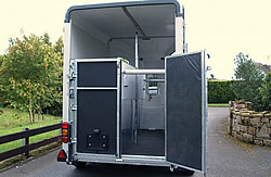 Nugent Horse Trailer Split Door